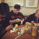 At the deli with Fat Tony, Patrick Brown and Daniel Lynus