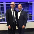 M Prommer and Elliot Resnick (Defend Lawyer) at The 2017 Grammy Awards