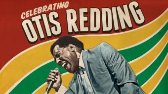 Poster for celebrating Otis Redding