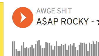 Daniel Lynas and Jordan Blackmon co-write on A$AP Rocky's track