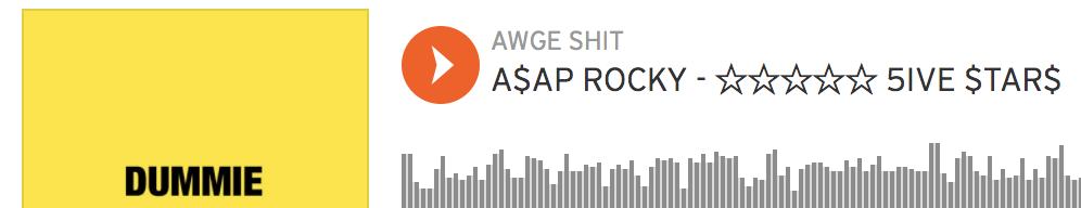 Daniel Lynas and Jordan Blackmon co-write on A$AP Rocky's track